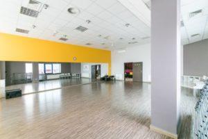 Sala Żółta- Jagielski Dance Project Szkoła tańca wynajem sal w Toruniu