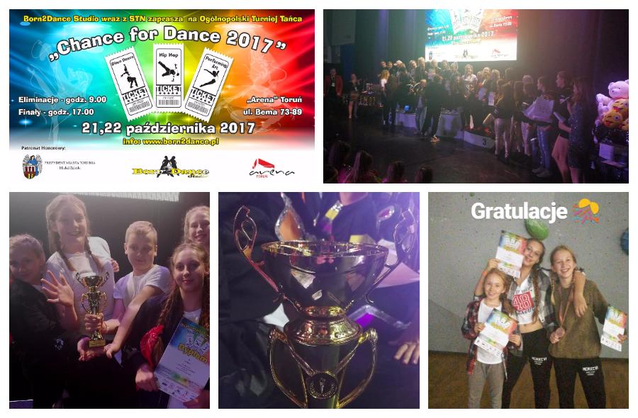turniej Chance For Dance Toruń szkoła tańca Jagielski Dance Project