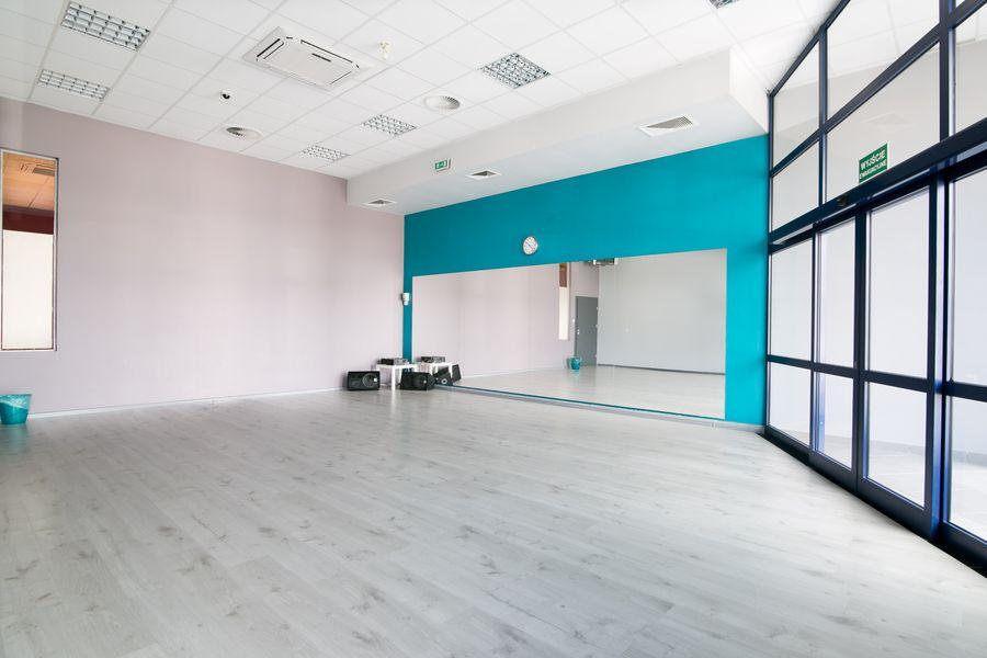 Sala Turkusowa - Jagielski Dance Project Szkoła tańca wynajem sal w Toruniu