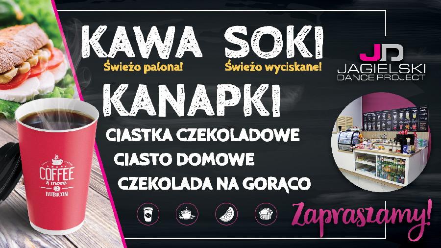 Kawiarnia Rubicon szkoła tańca Jagielski Dance Project Toruń