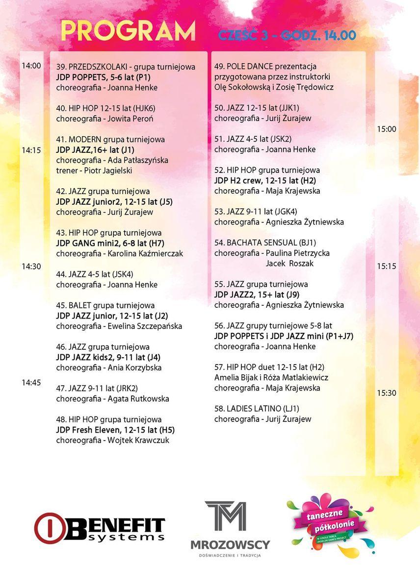 14. Przegląd Jagielski Dance Project - pokazy uczniów szkoły tańca - Aula UMK Toruń - 4