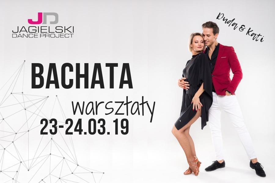 bachata warsztaty toruń - Duda & Kati 23-24.03.19 - szkoła tańca jagielski dance Project