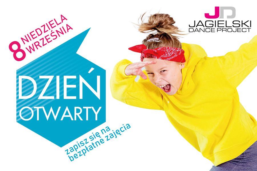 Dzień otwarty w Jagielski Dance Project - taniec akrobatyka Toruń