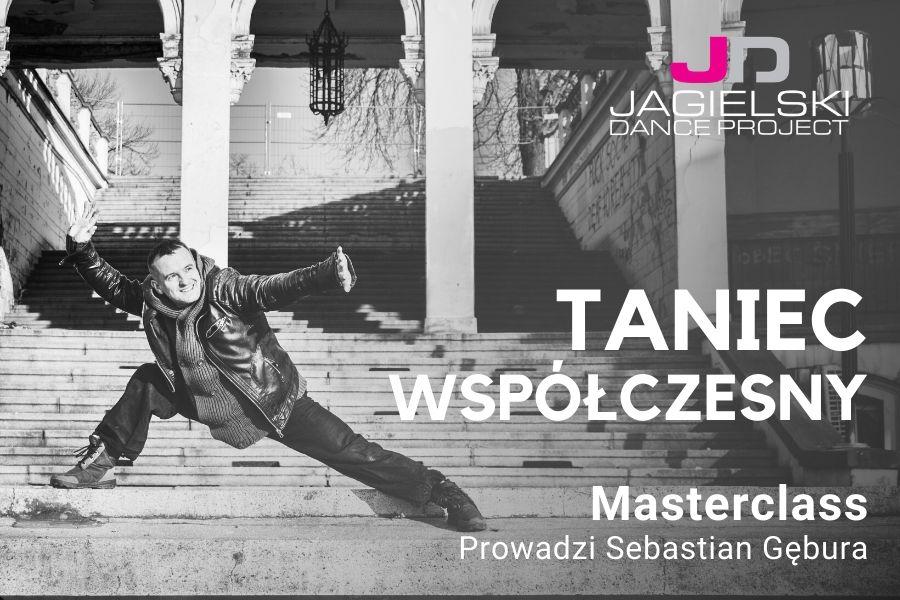 Sebastian Gębura - TANIEC WSPÓŁCZESNY - Szkoła Tańca Jagielski Dance Project