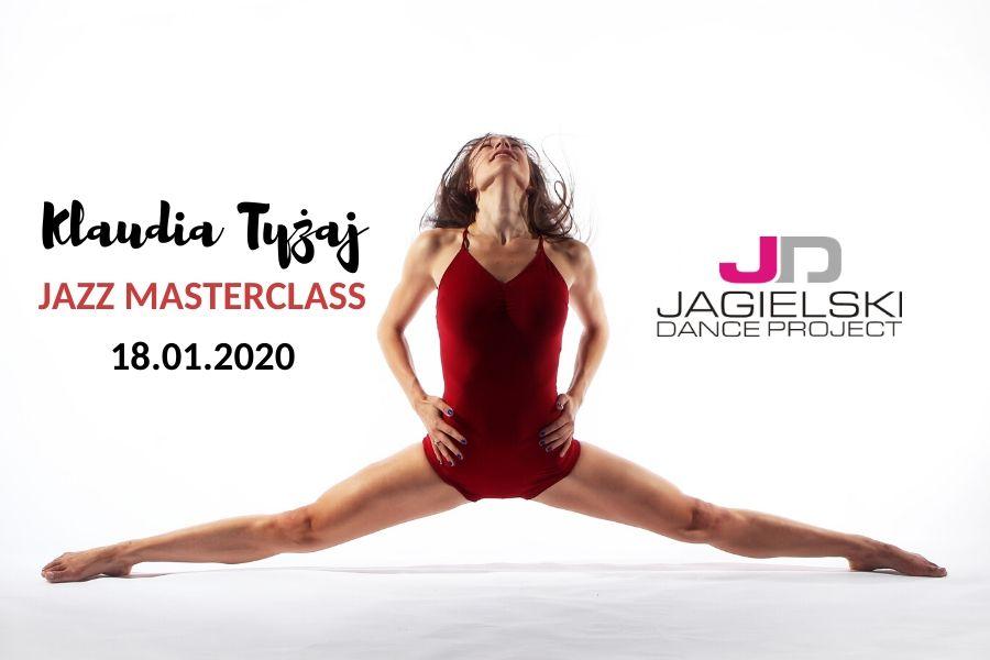Klaudia Tyżaj - JAZZ MASTERCLASS - Szkoła Tańca Jagielski Dance Project