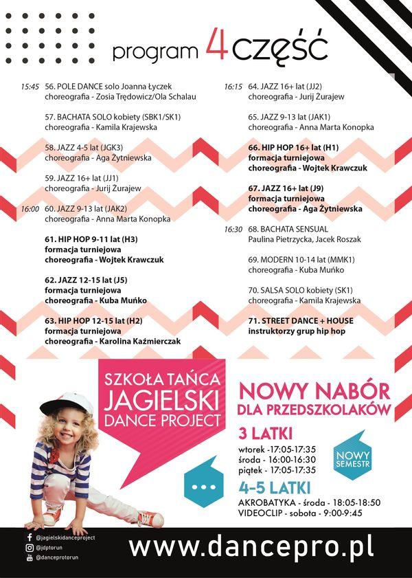 Program 17. Przegląd Jagielski Dance Project 4