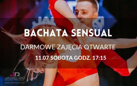 Bachata Sensual - darmowe zajęcia otwarte - 11.07
