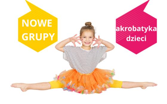 Polecane grupy akrobatyka dla dzieci