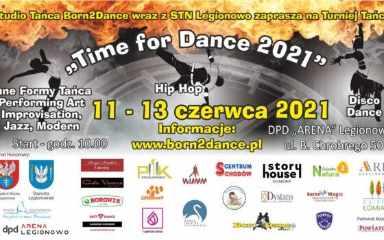 Międzynarodowy Turniej Tańca Time for Dance 2021